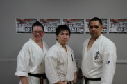 Tiffany, Sensei Tagahara and Sensei Raan