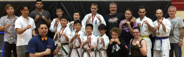 O'Neill Dojo Team and Supporters