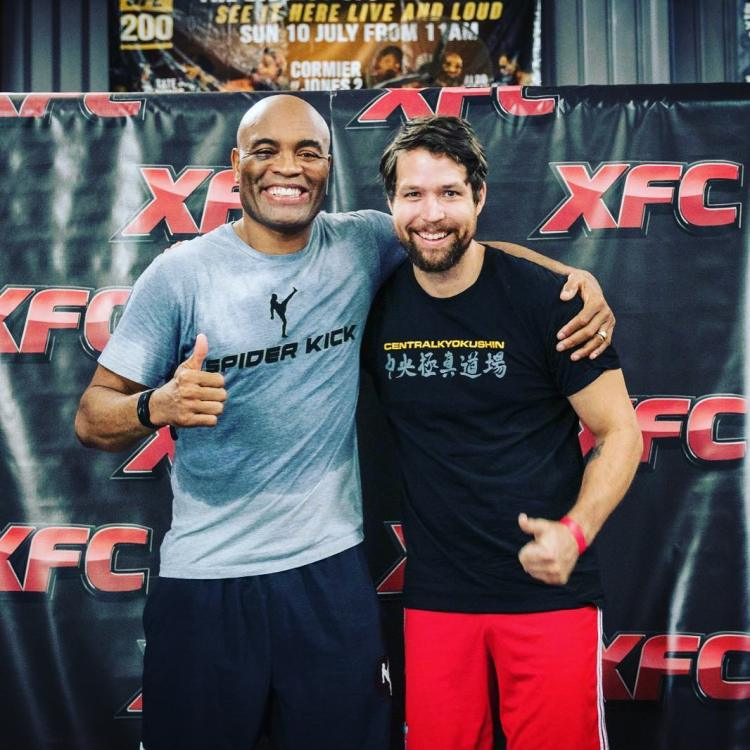 """Tim and Anderson """"The Spider"""" Silva"""